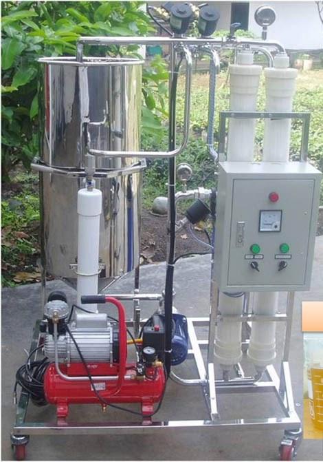 Установка мембранной фильтрации растительных масел