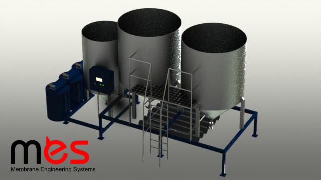 установка очистки сточных вод от ПАВ