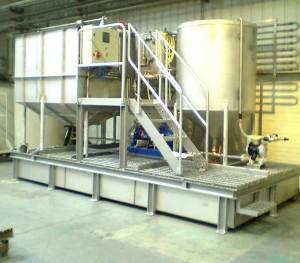 установка очистки сточных вод типографии