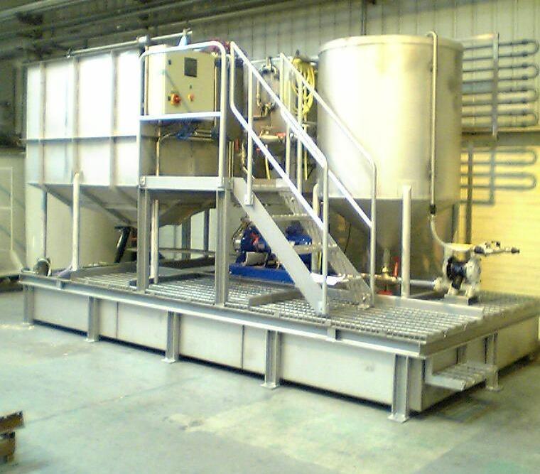 установка очистки сточных вод