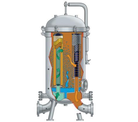 Коагулятор сепаратор сточных вод