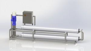 Установка mES-UFRO в гигиеническком исполнении