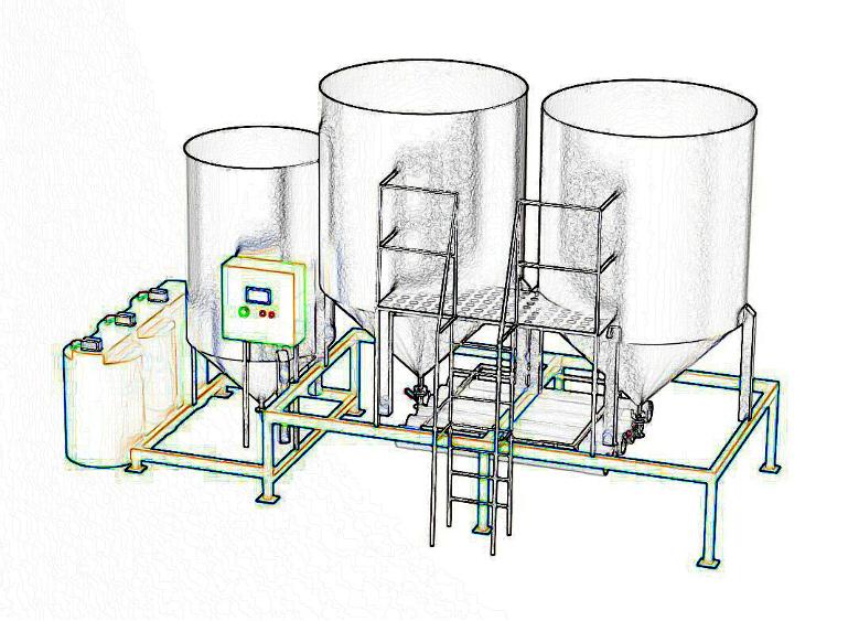 промышленных сточных вод,