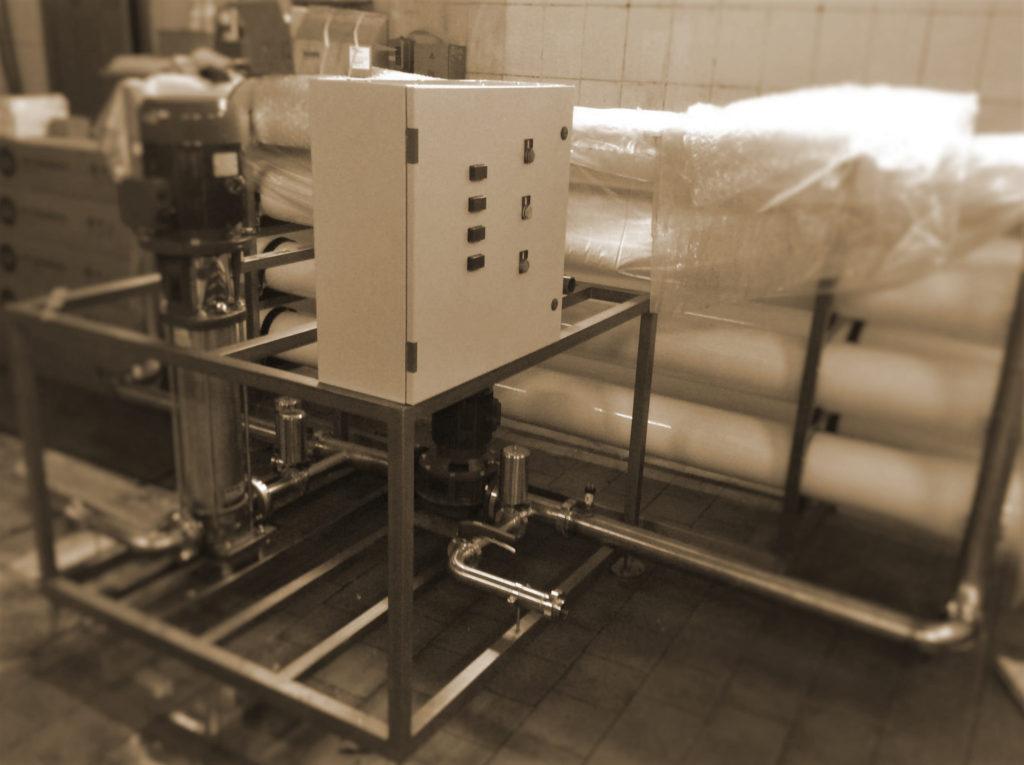 Система ультрафильтрации гальванических сточных вод для промышленного применения